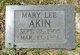 Profile photo:  Mary Lee Akin