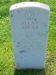 Profile photo: Sgt Allen L. Amole