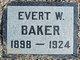 Evert Ward Baker