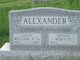 Profile photo:  Mary D Alexander