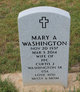 Profile photo:  Mary A Washington