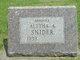 Aletha A. Snider