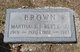 Profile photo:  Martha L. Brown