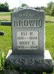 Profile photo:  Mary E <I>Pifer</I> Brown