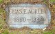 Profile photo:  Charles Ackley