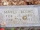 Mabel Blunt