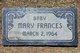 Mary Frances Kite