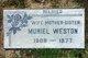 Muriel <I>Andis</I> Weston