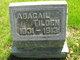 Profile photo:  Abagail <I>Sisson</I> Tilden