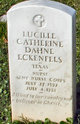 Profile photo:  Lucille Catherine <I>Dahne</I> Eckenfels