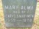 Mary Alma McWhorter