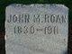 John M. Roan