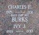 Profile photo:  Charles E Burks