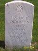 """Lester E. """" """" <I> </I> Anderson"""