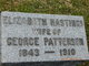 Profile photo:  Catherine Elizabeth <I>Hastings</I> Patterson