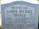 Profile photo:  Aaron Michael Franco