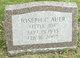 "Joseph C ""Little Joe"" Auer"