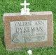 Valerie Ann Dykeman