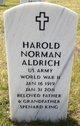 Profile photo:  Harold Norman Aldrich
