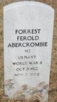 "Profile photo:  Forrest Ferold ""Forey"" Abercrombie"