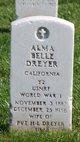 Profile photo:  Alma Belle Dreyer