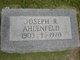 Profile photo:  Joseph R. Ahlenfeld