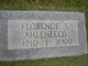 Profile photo:  Florence D. <I>Schultheis</I> Ahlenfeld