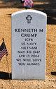 Profile photo:  Kenneth M. Crump