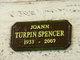 Joann <I>Turpin</I> Spencer