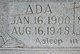 Profile photo:  Ada Stella <I>Hyde</I> Pendley