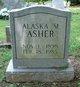 "Profile photo:  Alaska M. ""Mammie"" <I>Hodge</I> Asher"