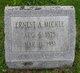 Profile photo:  Ernest A Mickle