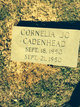 Profile photo:  Cornelia Jo Cadenhead