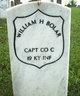 Capt William H Bolar