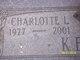 Profile photo:  Charlotte Louise <I>Horn</I> Kelley