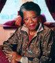 Profile photo:  Maya Angelou