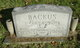 Profile photo:  Bertha Alden <I>Brown</I> Backus