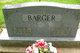 Mary <I>White</I> Barger