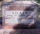 Mary Elizabeth <I>Barber</I> Adair