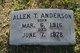 Profile photo:  Allen T Anderson