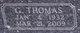 Profile photo:  George Thomas Abernathy, Sr