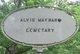 Alvis Maynard Cemetery