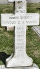 Rev D A Moore