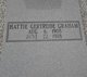 Profile photo:  Hattie Gertrude Graham