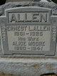 Profile photo:  Ernest Linder Allen