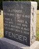 Mary Ruth Ann <I>Gillespie</I> Fender
