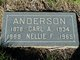 "Profile photo:  Nellie F. ""Nell"" <I>Mingle</I> Anderson"