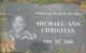 Profile photo:  Michael-Ann Christian
