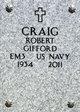 Profile photo:  Robert G. Craig