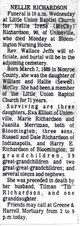 Nellie Irene <I>McCoy</I> Richardson